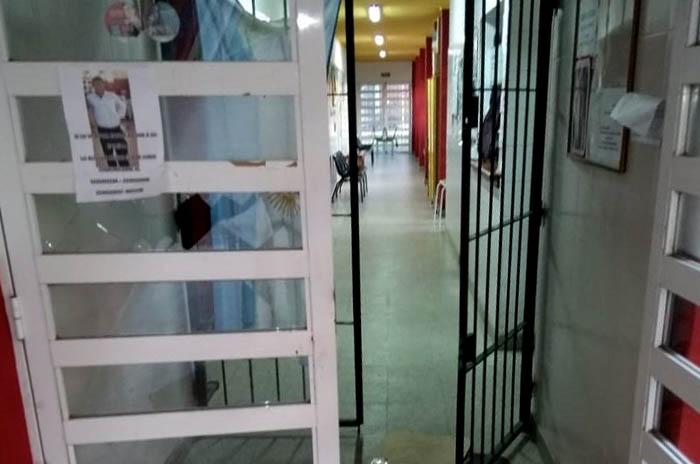 Volvieron a robar en el centro de salud de Parque Hermoso