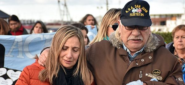 """Siete meses, el mismo dolor: """"Hoy nadie busca a los 44 del San Juan"""""""