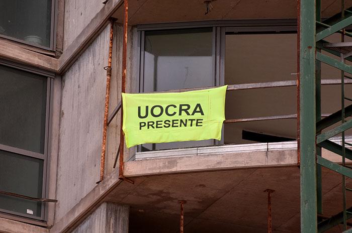 """Obras privadas: afirman que la """"protesta"""" de la Uocra tiene un """"buen acatamiento"""""""