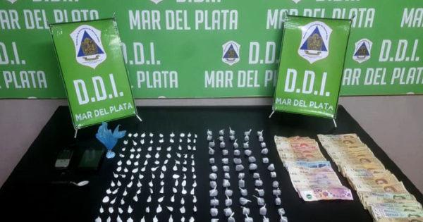 Un detenido y droga secuestrada en Vértiz y 238