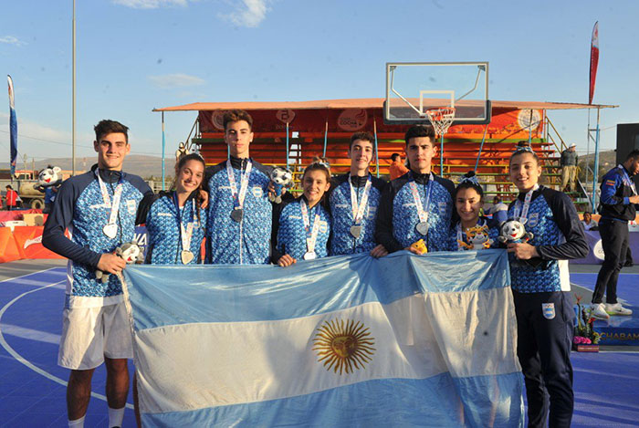Odesur: De La Fuente, medalla de plata con el básquet 3×3