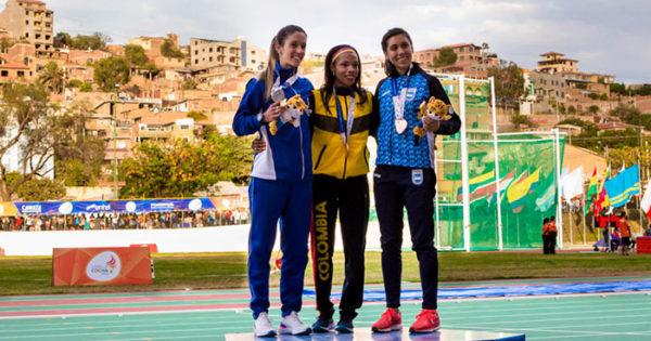 Juegos Odesur: Micaela Levaggi se subió al podio en los 1500
