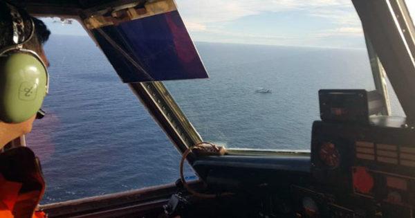Naufragó un buque marplatense: rescataron a los ocho tripulantes