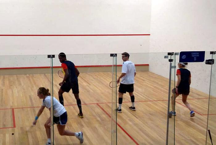 Juegos Odesur: el lunes cerró con medallas en squash