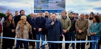 Inauguraron obras de asfalto enFaroNorte