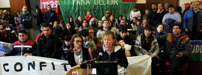 Boston: el HCD escuchó a los trabajadores y los recibirá Arroyo