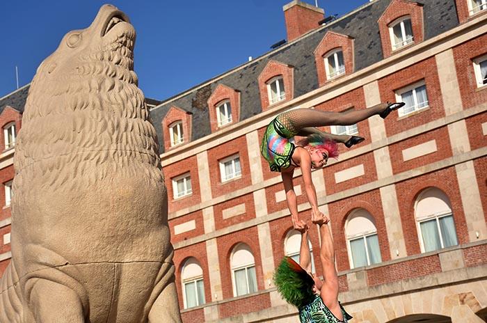 Llegó el Cirque du Soleil para romper la rutina marplatense