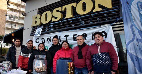 """""""No queremos que la Boston cierre, queremos trabajar"""""""