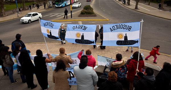 ARA San Juan: 3 protestas en 7 días para que nadie se olvide