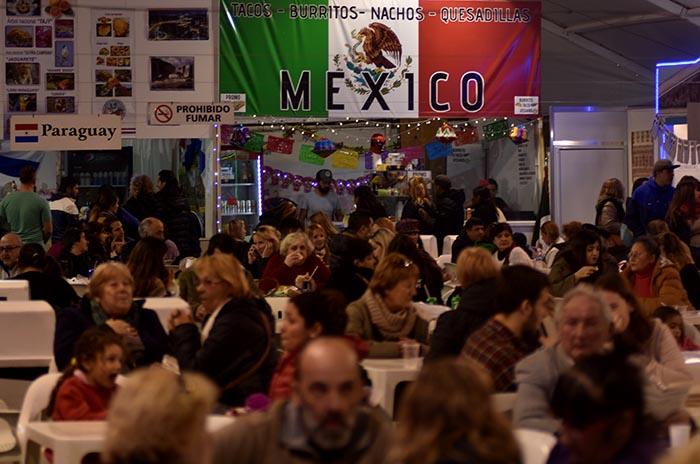 Feria de las Colectividades: más de 50.000 personas en una semana
