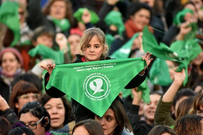 """Por el derecho al aborto legal, el 2019 """"seguirá siendo verde"""""""