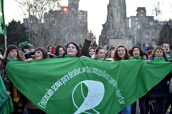 """Un nuevo pañuelazo por el aborto legal: """"La marea verde no descansa"""""""