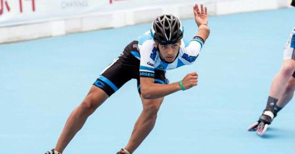Patín: Nahuel Schelling, a los Juegos Olímpicos de la Juventud