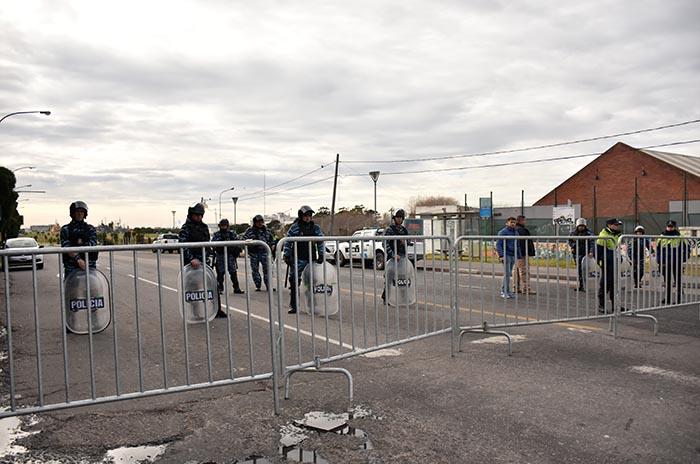 OPERATIVO POLICIAL MACRI EN MAR DEL PLATA  (2)
