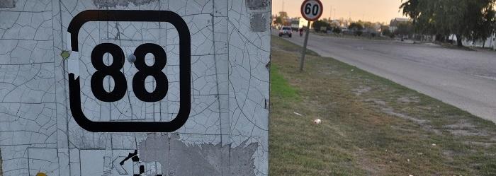 Choque frontal en Ruta 88: murió un hombre y hay dos heridos