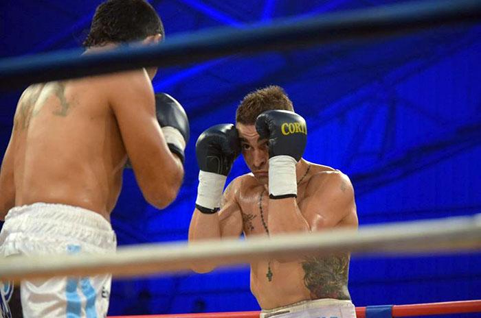 """Boxeo: """"La Cobra"""" Rueda, del gimnasio de Alvarado a Sudamérica"""