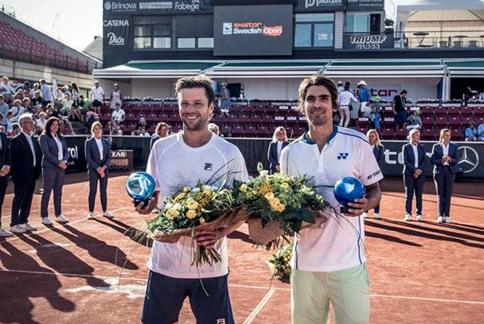Zeballos y Peralta, campeones en Suecia