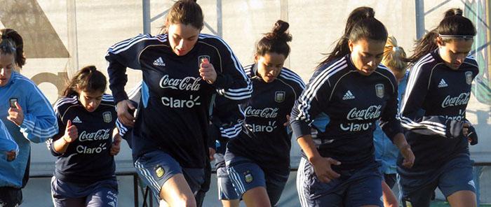 Con dos marplatenses, Argentina trabaja pensando en el Mundial