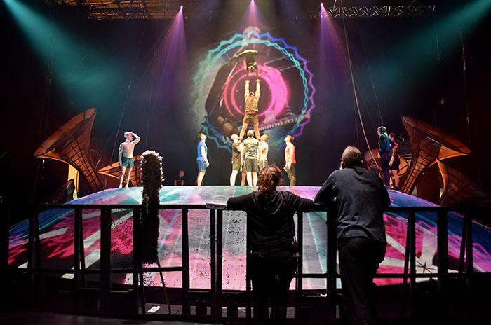 Cirque du Soleil, el detrás de escena del rock circense