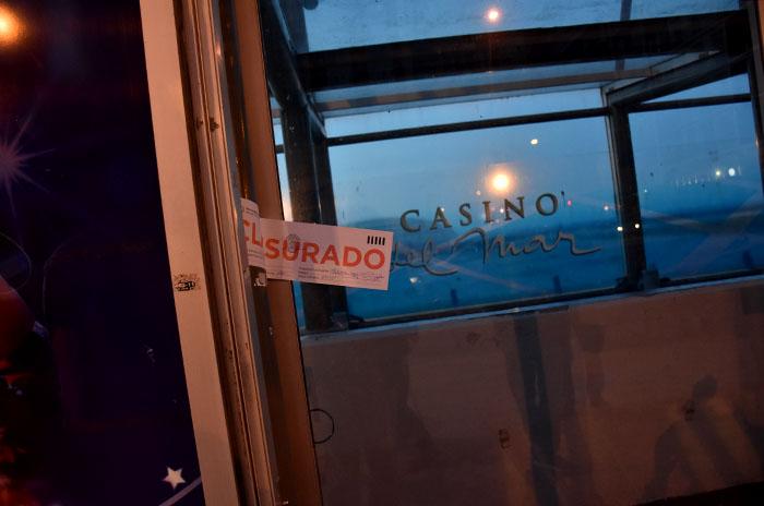 La CGT se manifestó contra la clausura del Casino del Mar