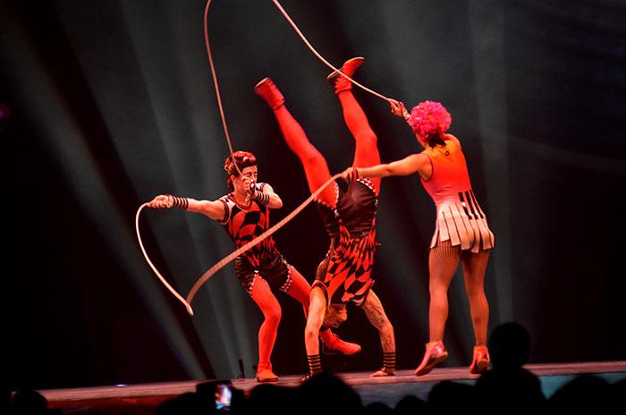 Más de 25 mil personas vibraron con el Cirque du Soleil