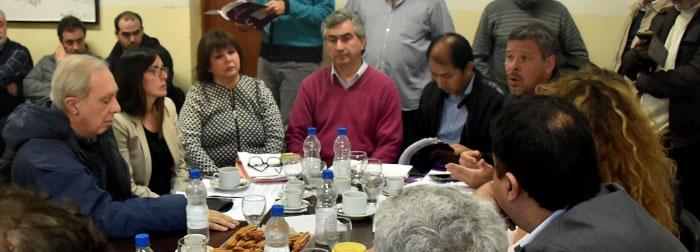 Boleto: sin acuerdo, suspendieron la comisión de Transporte