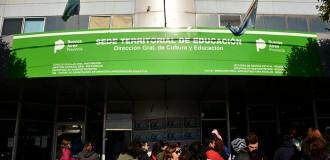 Una protesta por escuelas sin respuestas y con clases afectadas
