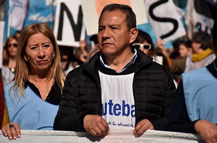 MARCHA EN DEFENSA DE LA EDUCACION PUBLICA  (13) SANTOS IBAÑEZ