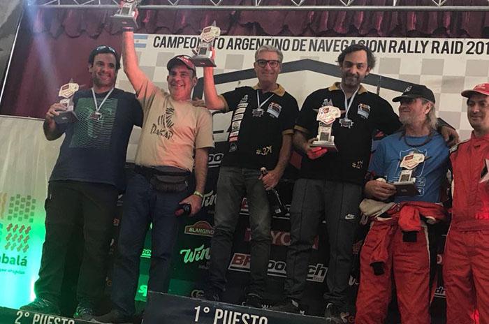 Gándara y Martínez ganaron la cuarta fecha del Rally Ca Nav