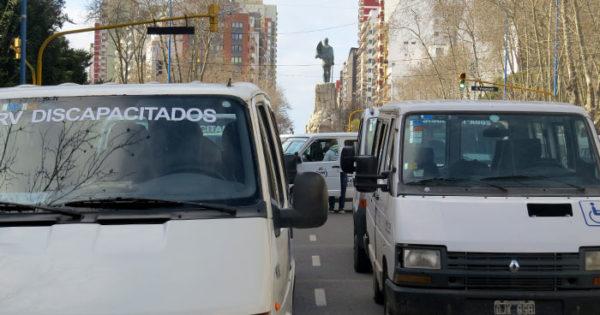 Transportistas de personas con discapacidad, otra vez en alerta