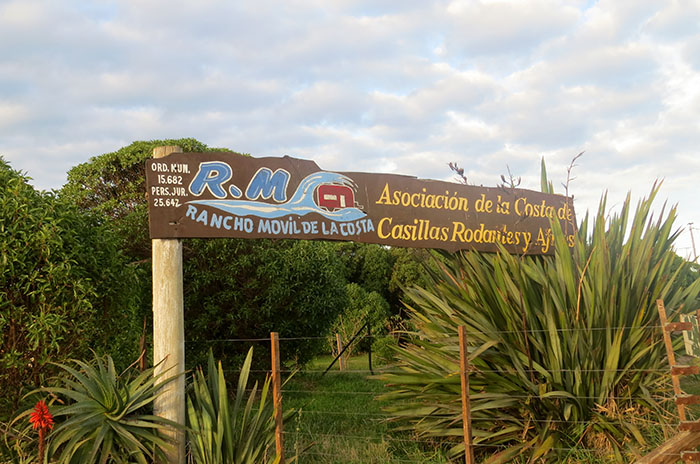 RANCHO MOVIL DE LA COSTA CARTEL FRENTE CHAPADMALAL