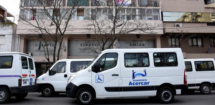 Transportistas de personas con discapacidad paralizan el servicio