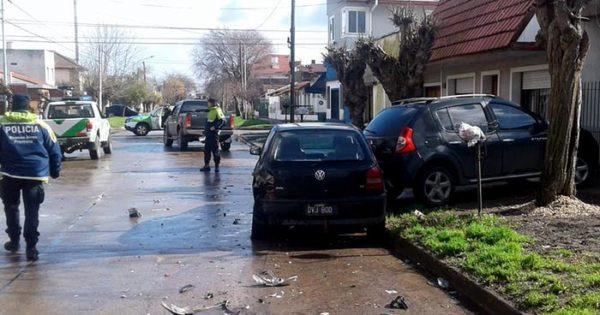 Manejaba alcoholizado y embistió a un hombre que subía a su auto