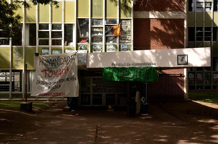 Universidad: Humanidades también levantará la toma