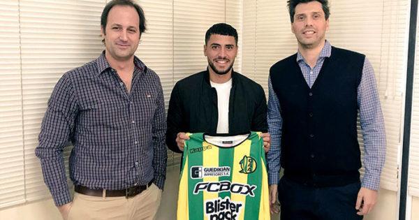 Fernando Godoy llegó a Aldosivi