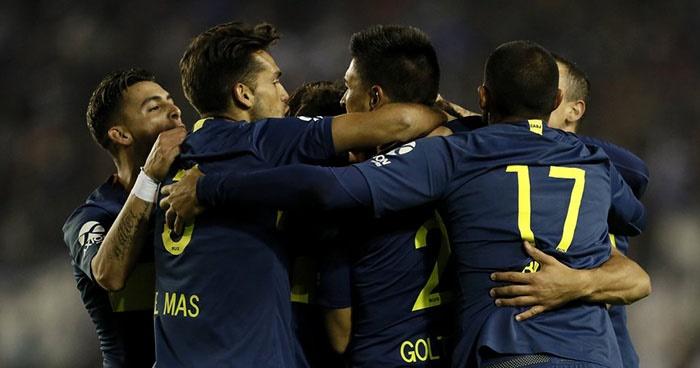 Copa Argentina: Alvarado no tuvo chances, Boca goleó y lo eliminó