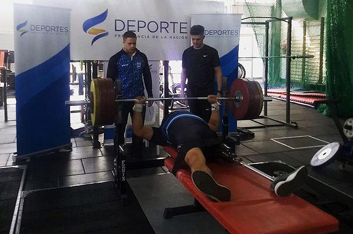 Tres medallas marplatenses en el Nacional de pesas adaptado