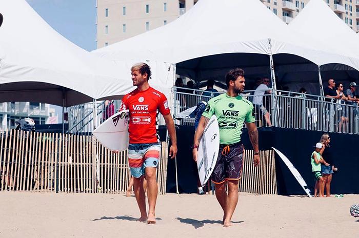 Surf: Muñiz, cara a cara con su hermano brasileño en Virginia
