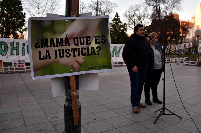 """Caso Gianelli: """"A cinco años el pedido es el mismo, justicia"""""""