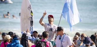 Santiago Muñiz, otra vez campeón del Mundial de Surf