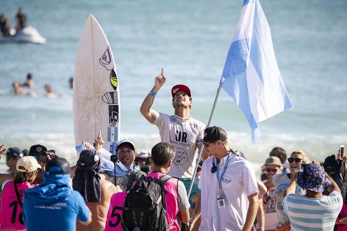 Una por una, las consagraciones argentinas en el surf mundial
