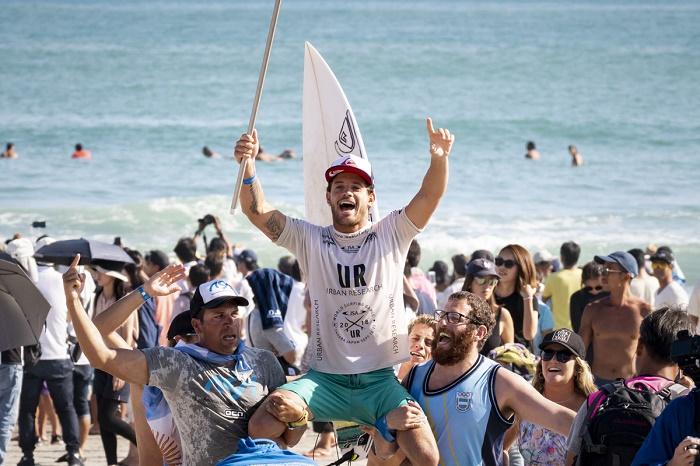Surf: Santiago Muñiz cuelga la tabla por un tiempo