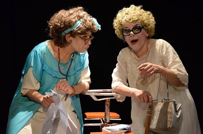 Arritmia teatro