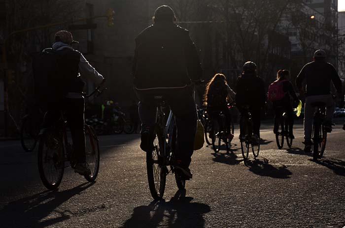 """Una """"bicicleteada"""" para generar conciencia por la joven atropellada"""