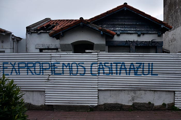 Casita Azul: pidenincluir la expropiación en elPresupuesto