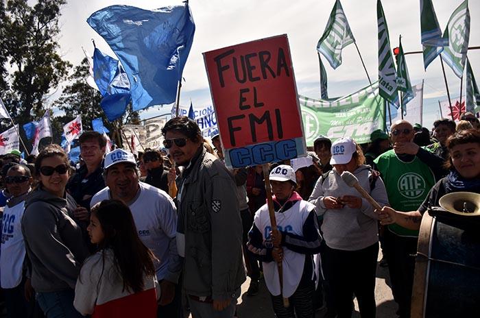 #29M: cortes y protestas  en medio del paro general