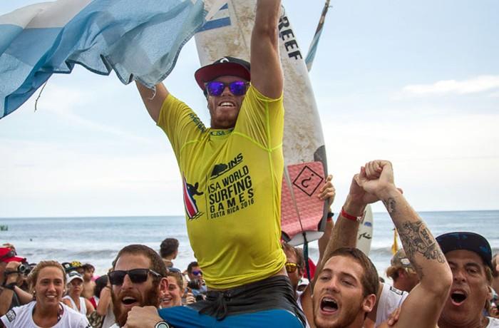 Foto ISA – Pablo Jiménez. leandro usuna costa rica 2016 campeon del mundo