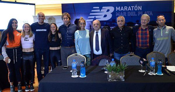 Presentaron la Maratón Internacional de Mar del Plata 2018