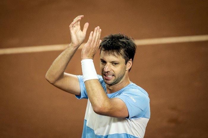 Copa Davis: Zeballos le ganó a Mejía y cerró la serie 4 a 0
