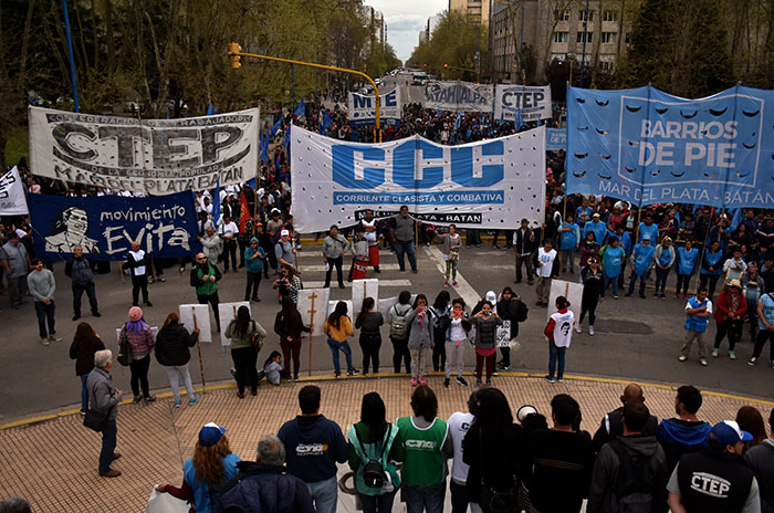 Paro general: cierre del primer día de protesta con distintas marchas